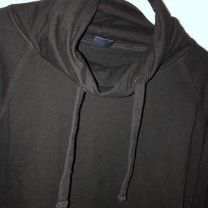 GAP Tops - Black turtle/cowl neck sweatshirt by GAP, size M